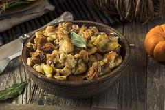 Fresh Homemade Thanksgiving Turkey Stuffing
