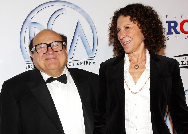 Дэнни Де Вито и Реа Перлман в браке 34 года