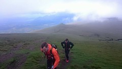 The first light on our ascent of Clough Head on Leg 2 Image