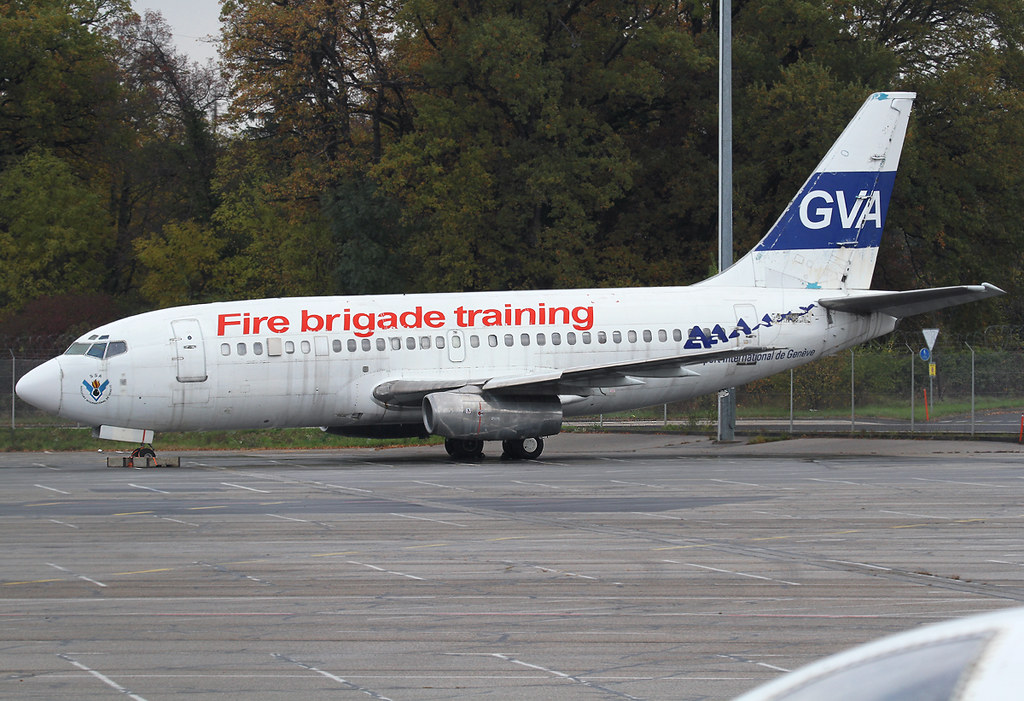Originally delivered back in 1968 to United Airlines as N9029U this frame was in service for 30 years. Now stored and used as fire brigade trainer at GVA airport