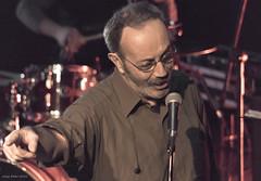 Hüsnü Arkan on stage