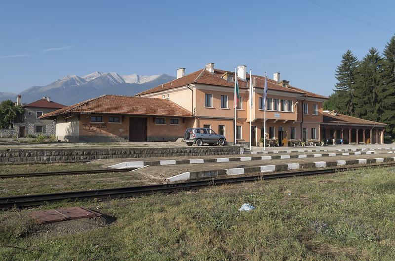 Bansko narrow gauge railway station, 15.09.2015.