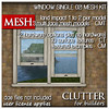 Clutter for Builders - Window 02I Mesh Kit