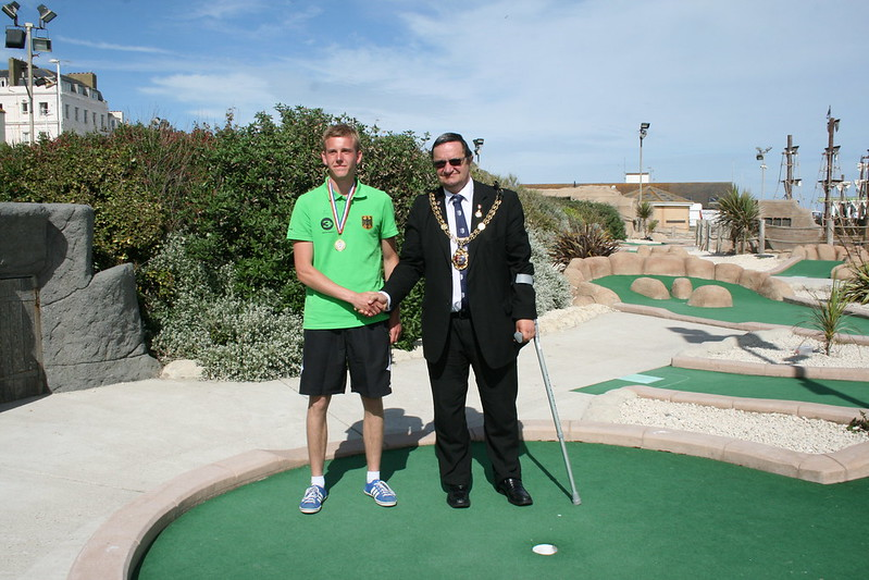 Gerrit Below - World Adventure Golf Masters champion