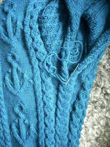 """Mystic"" sweater progress by Asplund"