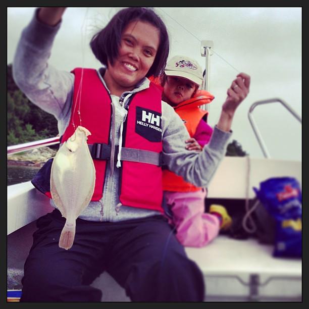Lycklig storfiskare...