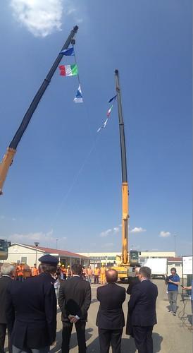 Ministro Lupi inaugura lavori autostrada a4 torino milano 1 luglio 2013 (1)