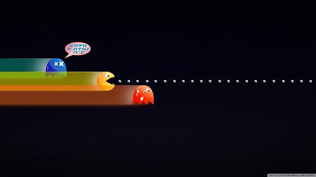 Pacman Iphone 6 Wallpaper Hd: Funny_pacman-wallpaper-2560x1440
