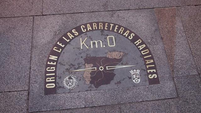 Km.0 of Madrid