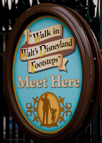 Walk in Walt's Disneyland Footsteps Tour