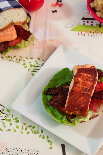 Salmon BLT #WeekdaySupper