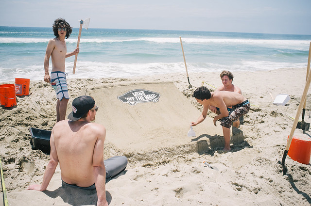 Vans Sand Castle Shop Battle @ Huntington Beach