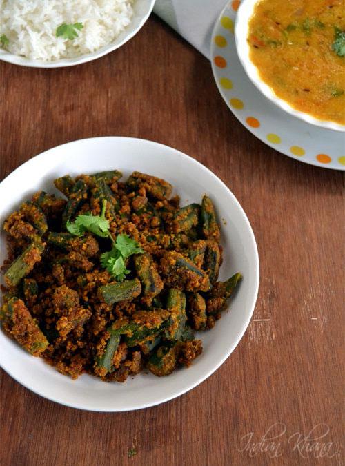 Besanwali Bhindi