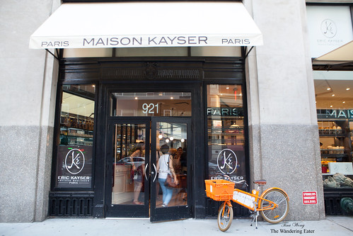 Entrance to  Maison Kayser