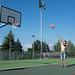 Small photo of Basketball playground, Bessenay, France 2013.