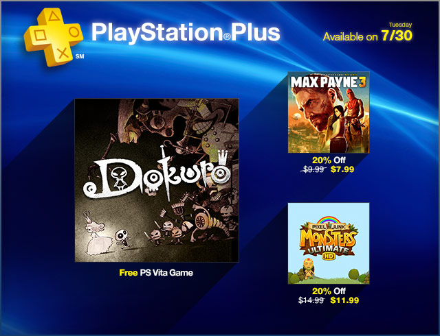 PlayStation Plus Update 7-30-2013