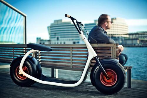 Scrooser – гибрид велосипеда и Segway превратит вас в городского серфера