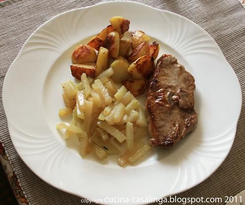 Lammkotelett Bratkartoffeln Kohlrabi