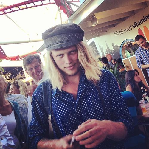 Grönans gladaste hipster @anderssondaniel71.
