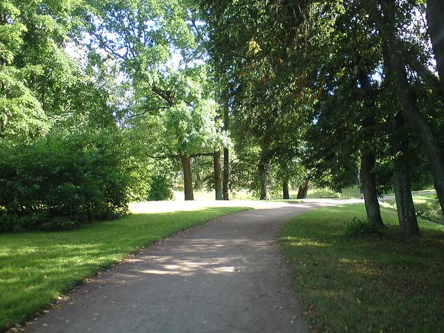 Дорожка в парке // Path in park