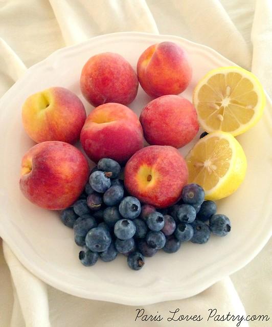 桃Blueberry Crumble