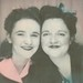 Tillie and her sister Lorraine at Fritz's Bar by sctatepdx