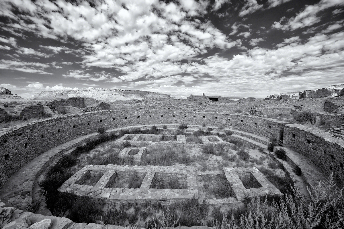 Great Kiva Chaco Canyon Great-kiva----chaco-canyon by