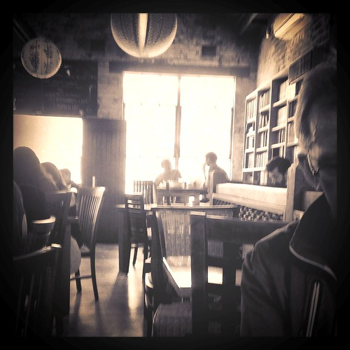 Book Cafe on a Sunday Afternoon