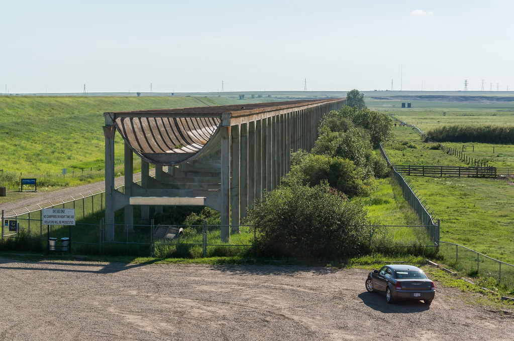 Brook Aqueduct, National Historic Site, Alberta