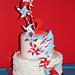 ruffles & pinwheels cake