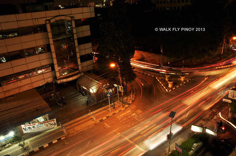 Cikini-Menteng Area at Night, Central Jakarta, Indonesia