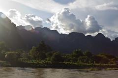 River. Mountain.