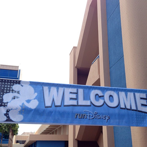 Packet Pick-Up Finally! @runDisney #disneylandhalf expo! Better late than never!