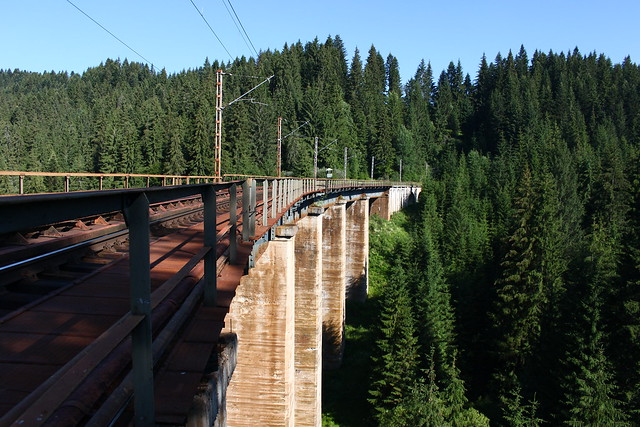 Viaduct langa Sihoasa