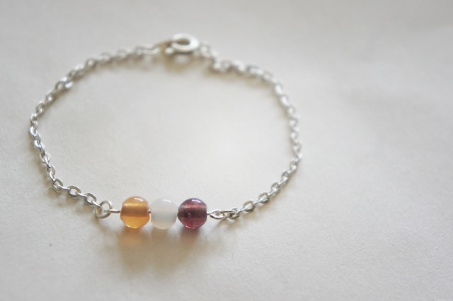 diy simple bead bracelet 1
