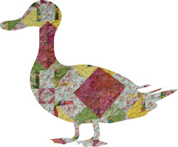 quilted duck