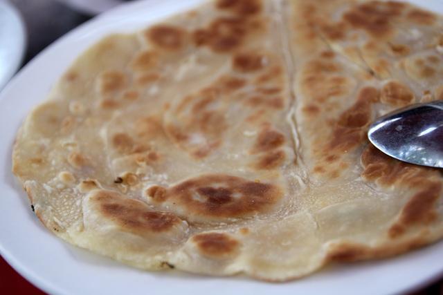 A crispy chapati