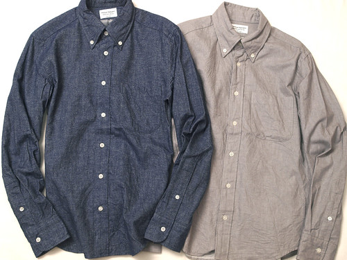 Manual Alphabet / Flannel B.D Shirt