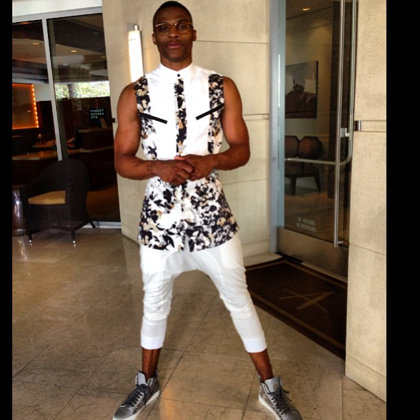 Top 10 Russell Westbrook Fashion Statements | The Lost Ogle