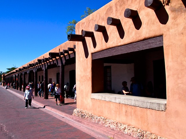 The Governor's Palace in Santa Fe