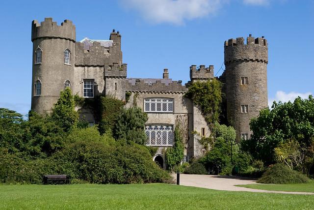 Malahide Castle in Dublin, Ireland