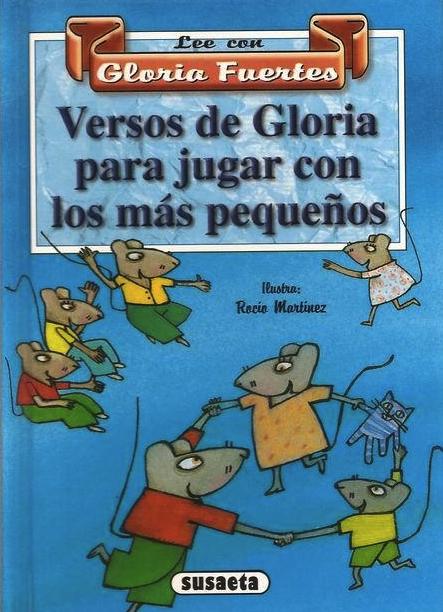 Cubierta de Versos de Gloria para jugar con los más pequeños