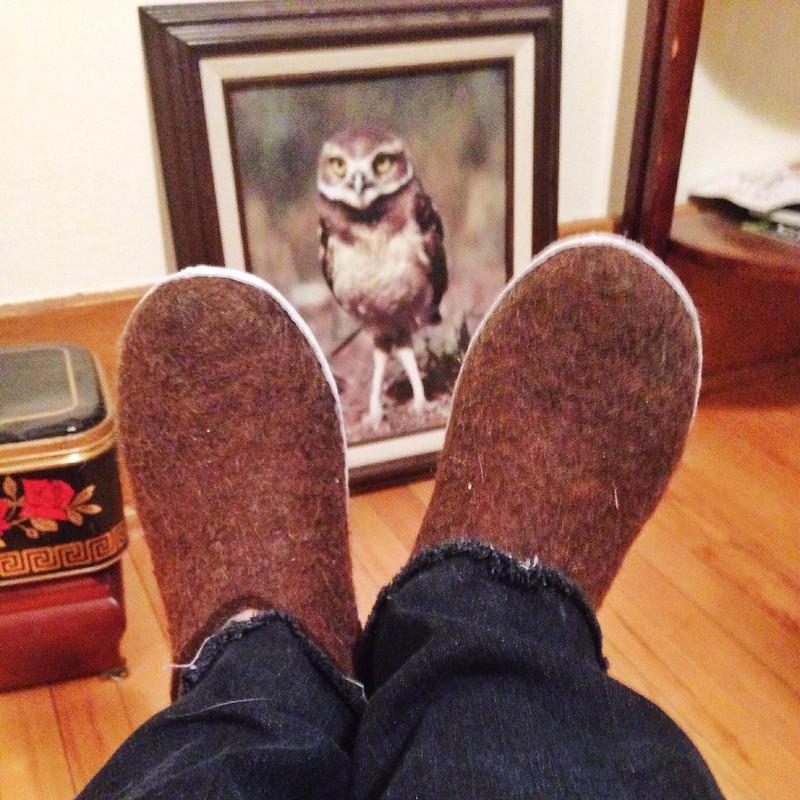 Glerup slippers