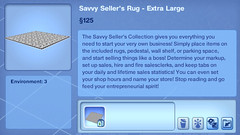 Savvy Seller's Rug - Extra Large