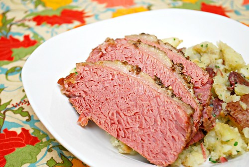 Beer Braised Corned Beef Brisket