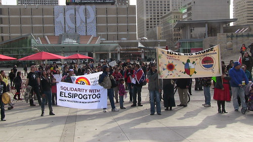 Solidarity With Elsipogtog - Edmonton