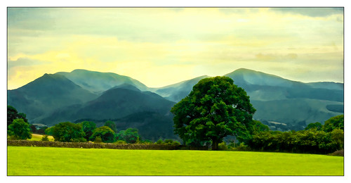 blue ridge mountains of.. england! by AppleCrypt