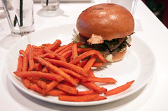 Steak Sandwich and sweet potato fries, Toronto Can…