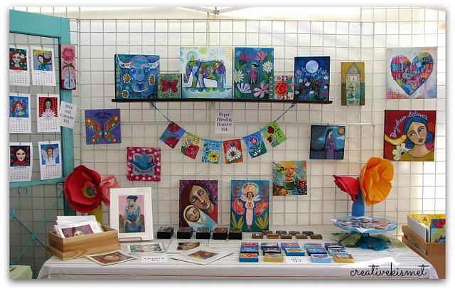art & craft booth