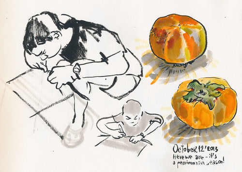 October 2013: Persimmon Season Begins :)